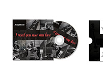 Cover design for a CD