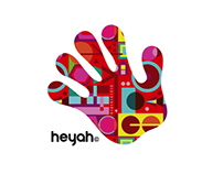 heyah mobile branding