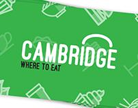 CAMBRIDGE WHERE TO EAT