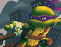 Chibi Donatello