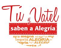 Tu y Vatel saben a Alegría