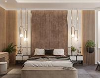 Modern Luxury Bed Room Interior KWT