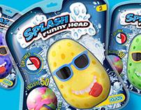 Splash Funny Head Ditoys