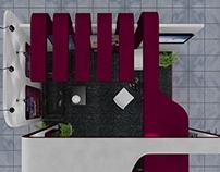 Exhibition Stall Design for Qatar Airways