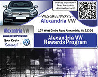 Alexandria / Waldorf VW Marketing Materials