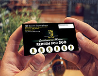 Flyer & Matching Loyalty Punch Card Design