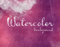 Watercolor Background - $5