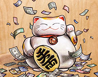 Lucky Cash Cat