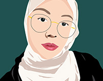 Digital Self-Portrait (Semester 1)