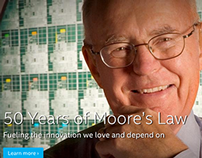 Intel: 50 Years of Moore's Law