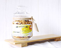 Oat to Joy. Organic granola from Singpore