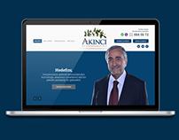 Mustafa Akıncı - Election Campaign Web Design
