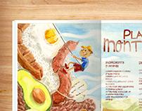 Plato Montañero Illustrated Recipe