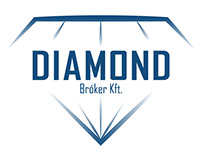 Diamond Bróker Logo and Print design