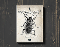 A metamorfose | Design de livro