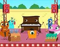 Musicalia - Serie animada - Kidloom