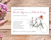 Appleberry Press Invitations