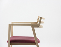 Cross Chair 2014 Designed by Chi Shuai