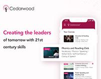 Cedarwood Afterschool Program App