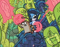 Regular Show comics #32 cover