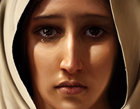 Mary, Mother of Jesus Painting