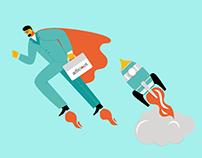 Illustrations for Marketing Agency