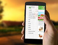 online food store - mobile version