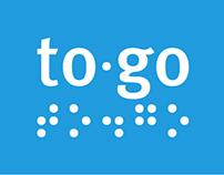 To.Go - Aparelho de ajuda de locomoção para cegos
