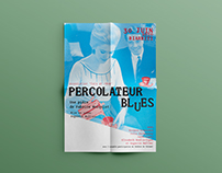 AFFICHE PERCOLATEUR BLUES