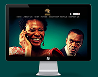 Golden Effects Website Presentation