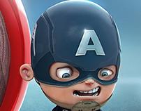 Mini Capitán América
