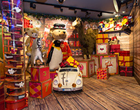 Harrods Christmas Grotto 2015