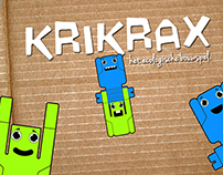 KriKraX - Construction toy for kids from 4-8 years