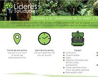 Infografía Proyecto Líderes Saludables