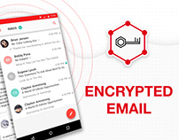 Encrypted email UI