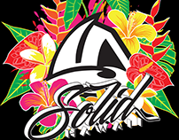 Solid Hawaii T-Shirt illustration