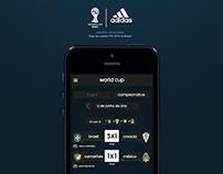 Adidas - aplicativo Copa do Mundo 2014