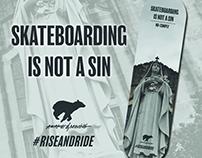 Skateboard Design: Skateboarding Is Not A Sin.