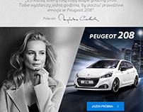 Publicité Peugeot Pologne