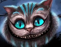 Cat of cheshire
