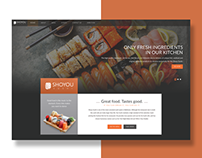 Shoyou Sushi Website Redesign