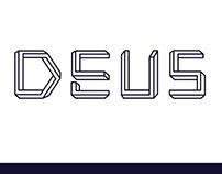 DEUS — A penrose titling Font