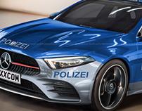2019 Mercedes-Benz A-Class Police