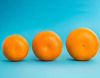 Oranges- Editorial work