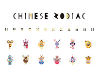 2D Animation | 12 Chinese Zodiac