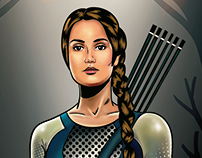 The Hunger Games COMIC ILLUSTRATION