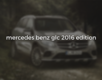 Mercedes GLC 2016 Edition