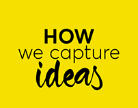 How we capture ideas Infographic
