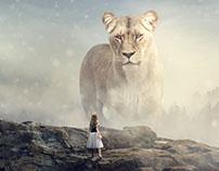 Big Lion - Photoshop Manipulation