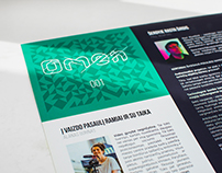 Miracles Magazine: Omen 001